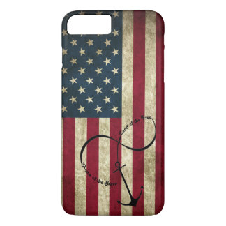 Flag with Infinity Anchor iPhone 8 Plus/7 Plus Case
