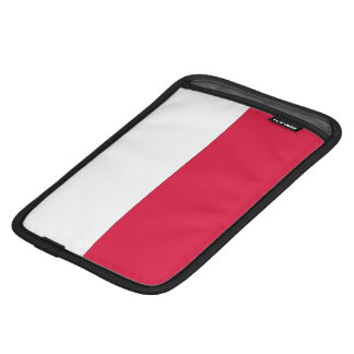 Flaga Polski - Polish Flag iPad Mini Sleeve