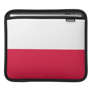 Flaga Polski - Polish Flag iPad Sleeve