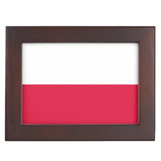 Flaga Polski - Polish Flag Keepsake Box