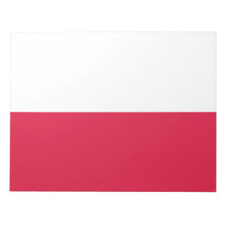 Flaga Polski - Polish Flag Notepad