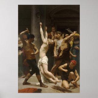 Flagellation De Notre Seigneur Jesus Christ Poster