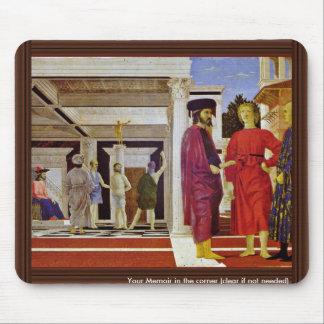 Flagellation Of Christ By Piero Della Francesca Mouse Pad