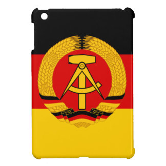 Flagge der DDR - Flag of the GDR (East Germany) iPad Mini Cases