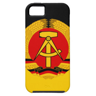 Flagge der DDR - Flag of the GDR (East Germany) iPhone 5 Cover