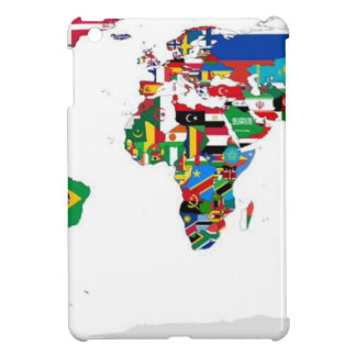Flagged World - Map of Flags of the World Cover For The iPad Mini