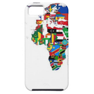 Flagged World - Map of Flags of the World iPhone 5 Cases