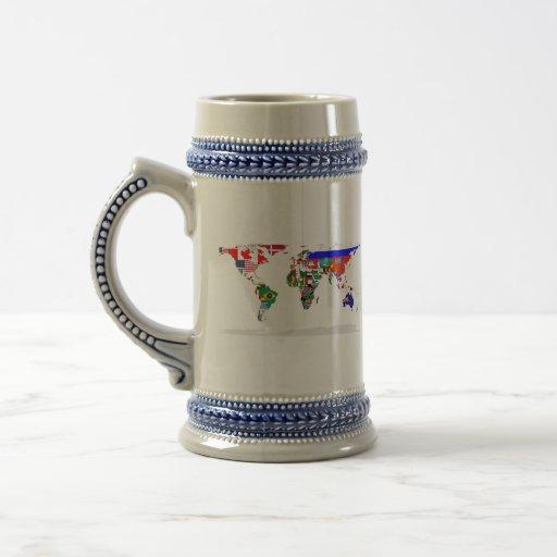 flagged world coffee mugs