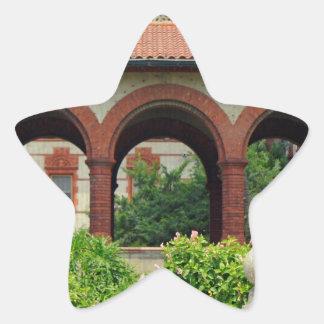 Flagler Archway Star Sticker