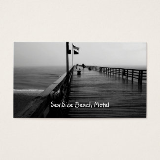 Flagler Beach Pier Photography Business Cards