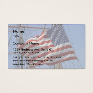 Flags American Business Card