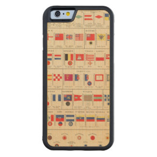 Flags, Badges Carved® Maple iPhone 6 Bumper
