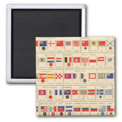 Flags, Badges Magnet