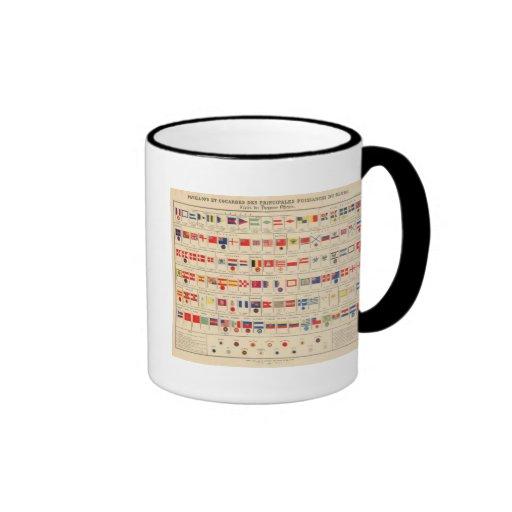 Flags, Badges Coffee Mugs
