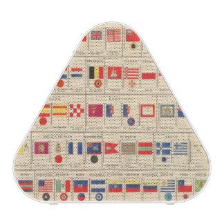 Flags, Badges Speaker