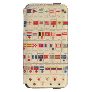 Flags, Badges Incipio Watson™ iPhone 6 Wallet Case