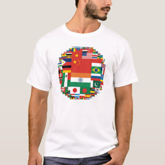 Flags by Population T-Shirt