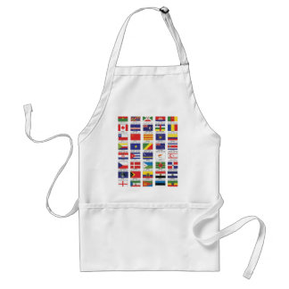 FLAGS FOR ALL STANDARD APRON