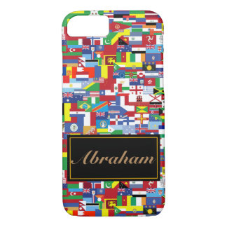 Flags of All Nations iPhone 8/7 Case