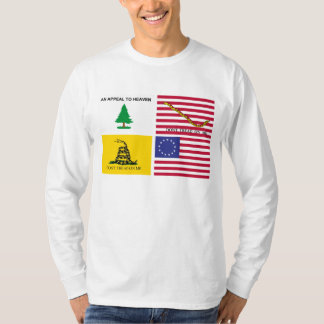 Flags Of The American Revolution T-Shirt