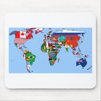 Flags of the World 2014 Mouse Pad