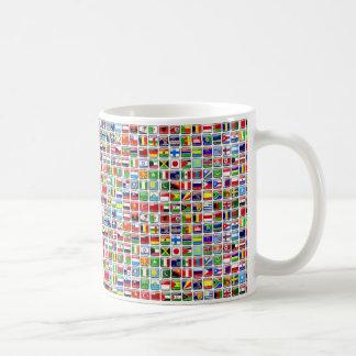 Flags of the World Basic White Mug