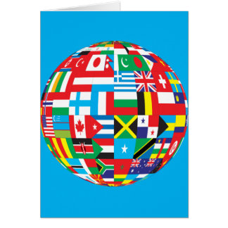 FLAGS OF THE WORLD CARD