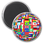 Flags of the World Fridge Magnets