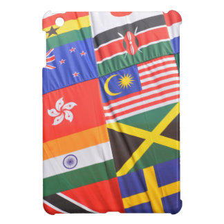Flags of the world iPad mini case