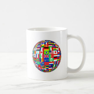 FLAGS OF THE WORLD COFFEE MUGS