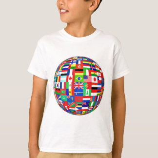 Flags of the World Tee Shirts