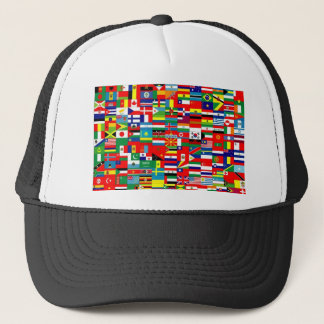 FLAGS OF THE WORLD TRUCKER HAT