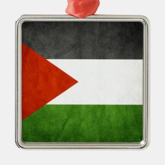 flags palestine metal ornament