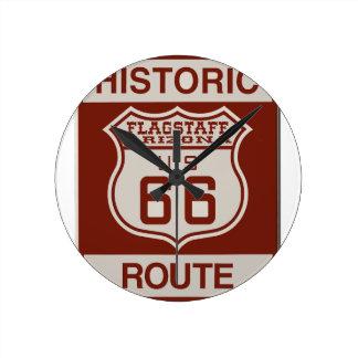 FLAGSTAFF66 ROUND CLOCK