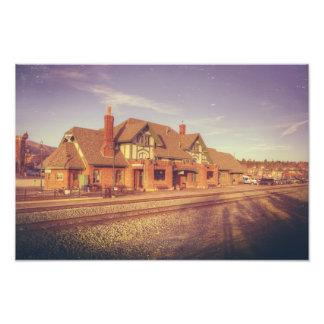 Flagstaff Railroad Station Photo Print