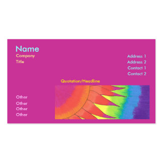 Flair Business Card