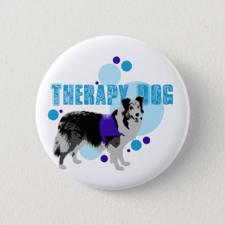Flair- Therapy Dog 2 6 Cm Round Badge