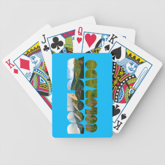Flairons, Boulder Colorado Bicycle Playing Cards