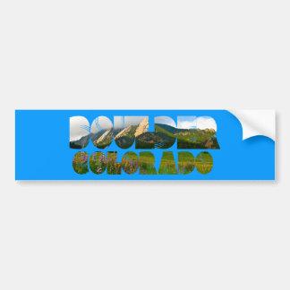 Flairons, Boulder Colorado Bumper Sticker