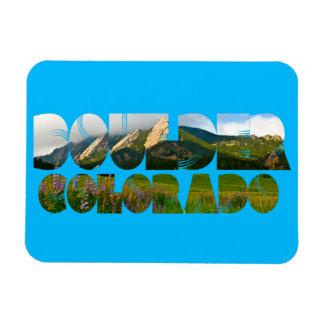 Flairons, Boulder Colorado Magnet