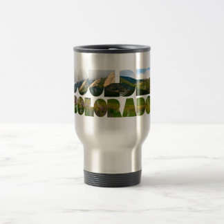 Flairons, Boulder Colorado Travel Mug
