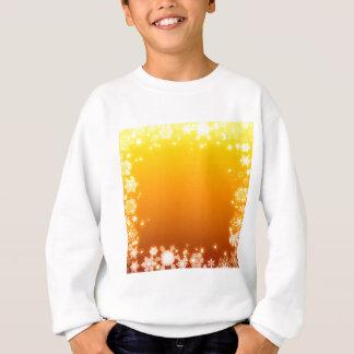 flake, gold, sweatshirt