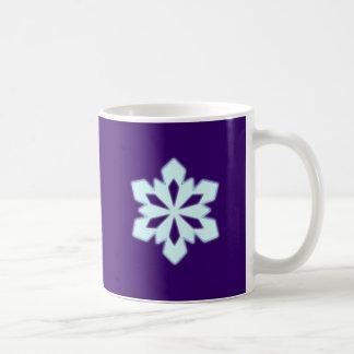 Flake snow flake coffee mug