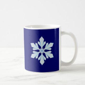 Flake snow flake mugs