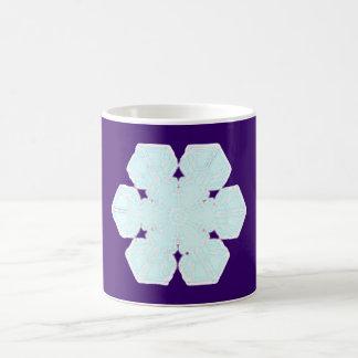 Flake snow flake coffee mugs
