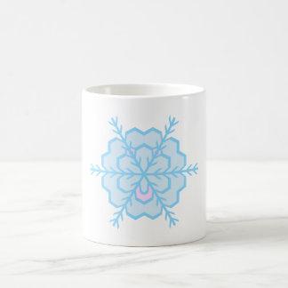 Flake snow flake mug