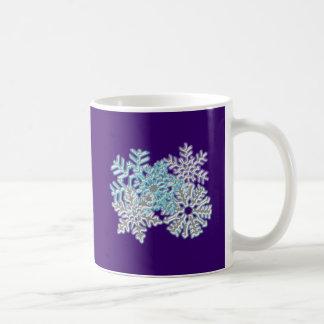 Flakes snow flakes mug