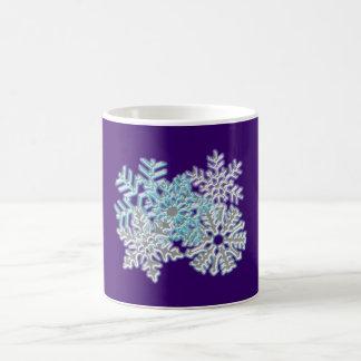 Flakes snow flakes coffee mugs