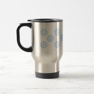 Flakes Stainless Steel Travel Mug