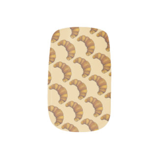 Flaky Buttery French Croissant Foodie Pastry Chef Minx Nail Art